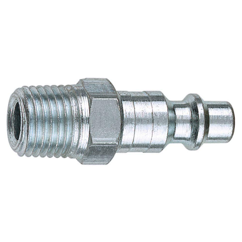 1/4 Inch NPT x 1/4 Inch I/M Male Plug