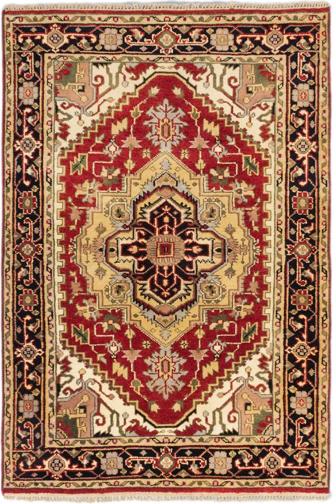 Hand-knotted Batul Rug - 4 Ft. 1 In. x 6 Ft. 0 In.