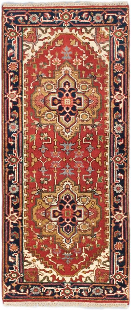 Hand-knotted Batul Rug - 2 Ft. 7 In. x 6 Ft. 0 In.
