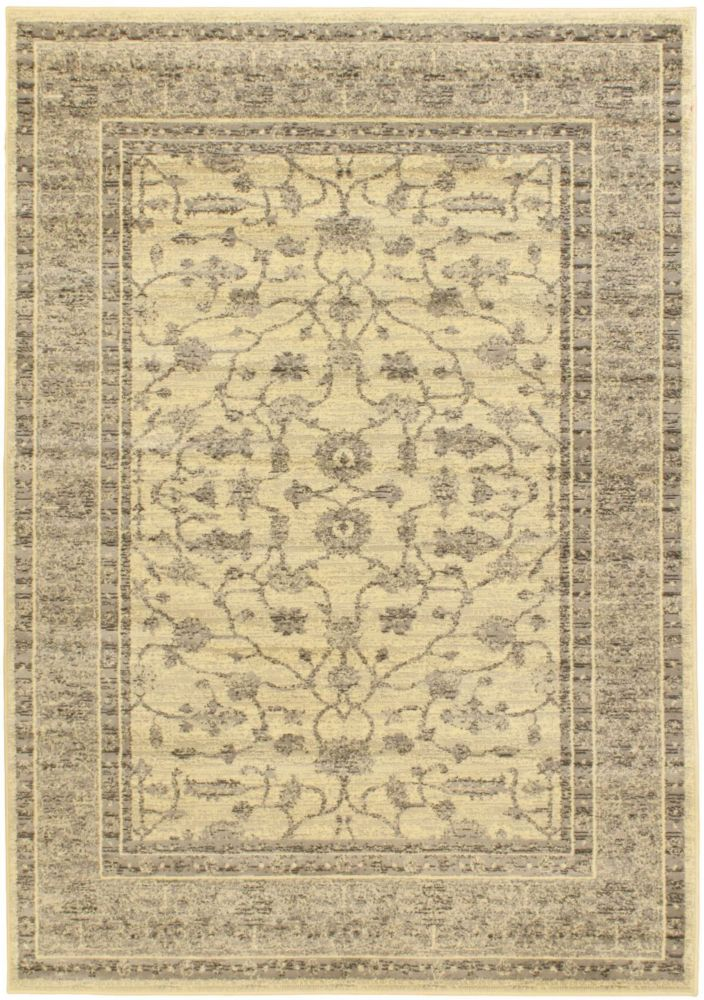 Classic Lotus Gray Rug - 5 Ft. 5 In. x 7 Ft. 9 In.