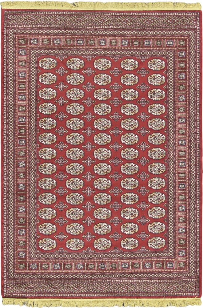 Soraya Silko Dark Red Rug - 5 Ft. 2 In. x 7 Ft. 7 In. 59545 in Canada