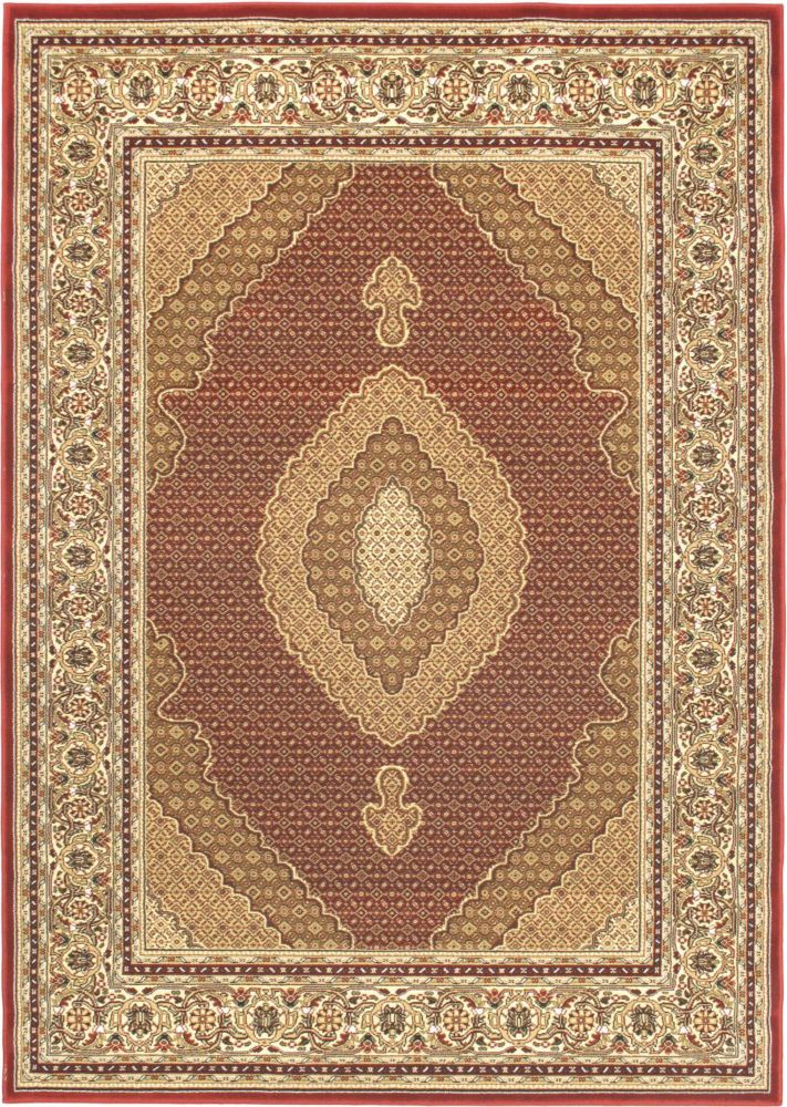 Classic Mahee Red Rug - 5 Ft. 5 In. x 7 Ft. 9 In.