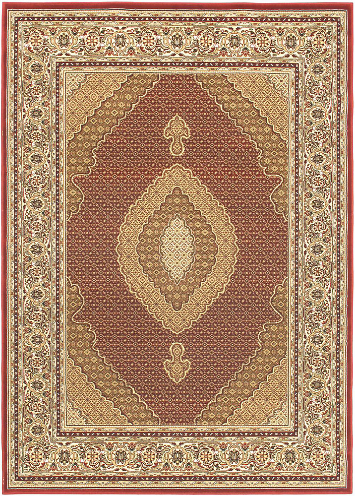 Classic Mahee Red 4 ft. 7-inch x 6 ft. 5-inch Indoor Traditional Rectangular Area Rug