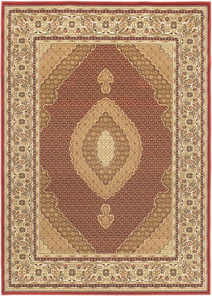 Classic Mahee Red Rug - 4 Ft. 7 In. x 6 Ft. 5 In.