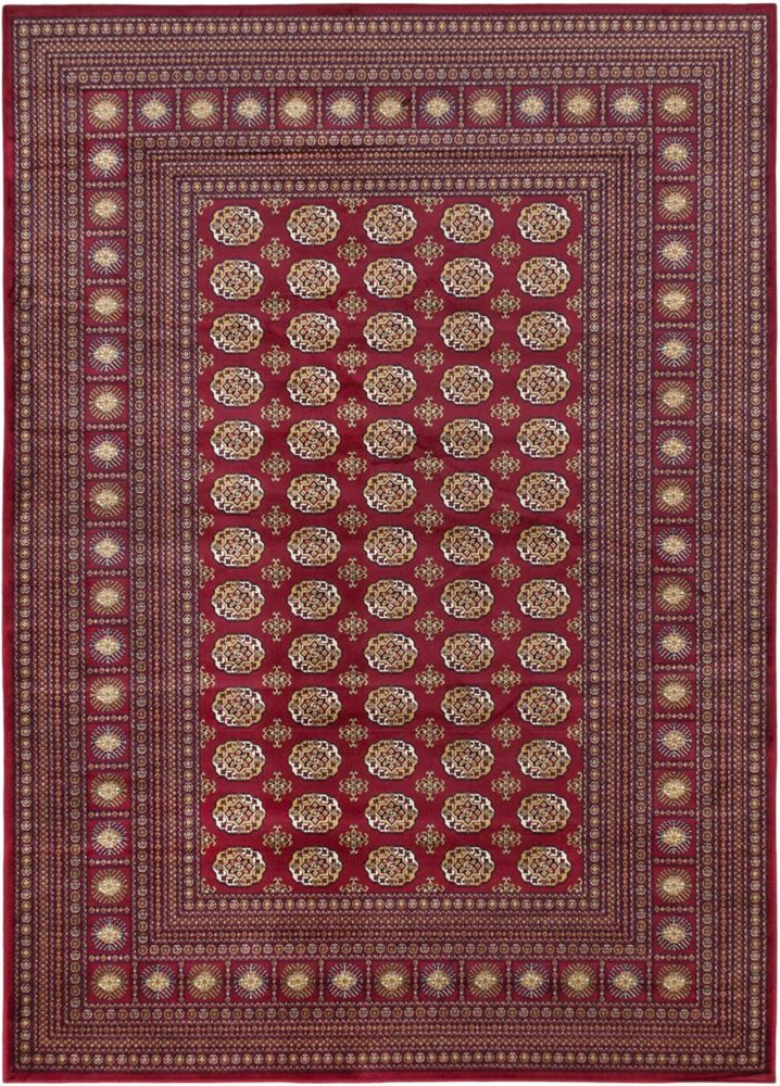 Bokhara Classic Red Rug - 3 Ft. 11 In. x 5 Ft. 3 In. 118371 Canada Discount