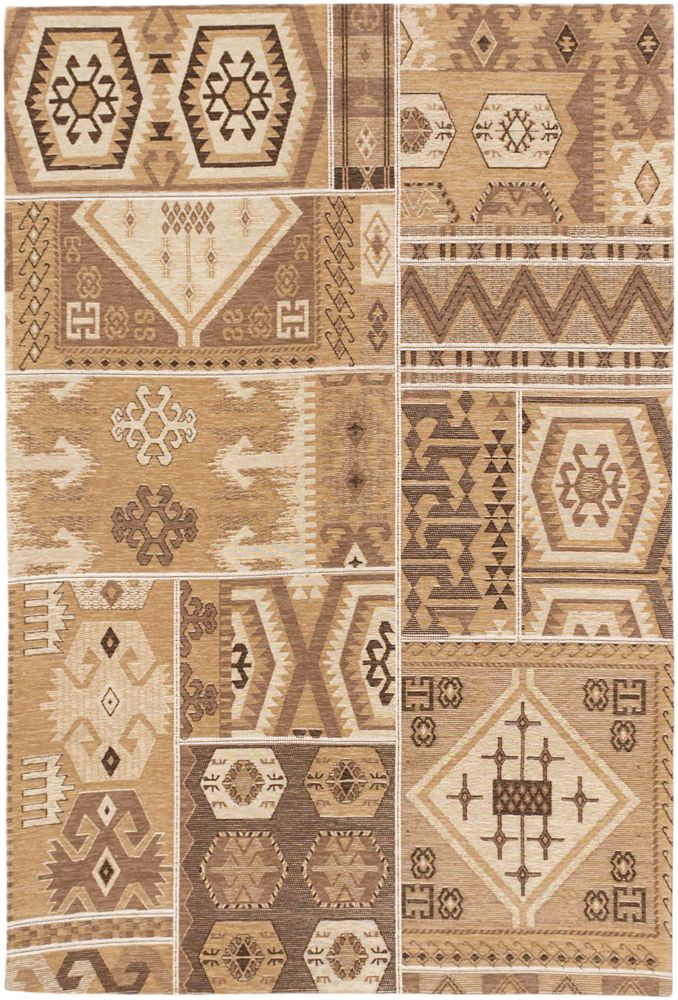 Portico Brown Cream Rug - 4 Ft. 7 In. x 6 Ft. 7 In. 108706 in Canada
