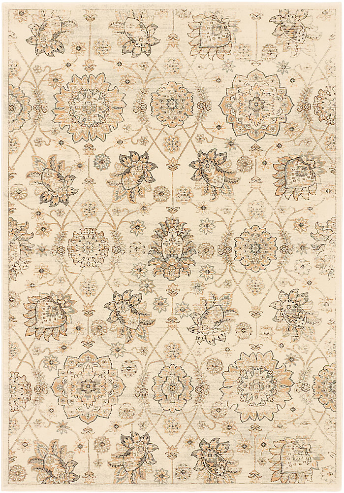 Shahrzad Anatolian Off-White 3 ft. 11-inch x 5 ft. 3-inch Rectangular Area Rug