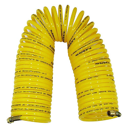1/4-inch x 50 ft. Nylon Recoil Air Hose