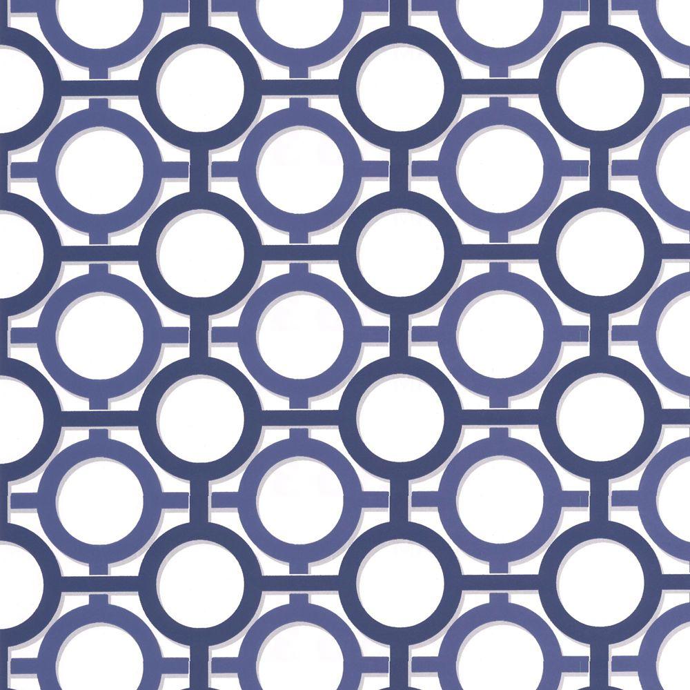 Enigma Blue/White Wallpaper