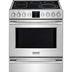 30-inch 5.1 cu. ft. Electric Range with PowerPlus Preheat Oven in Stainless Steel