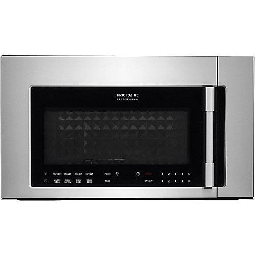 1.8 cu. ft. 2-in-1 Over the Range Convection Microwave in Stainless Steel