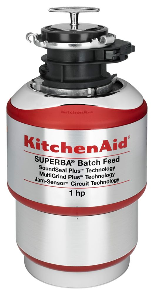 THD 1-Horsepower Batch Feed Food Waste Disposer