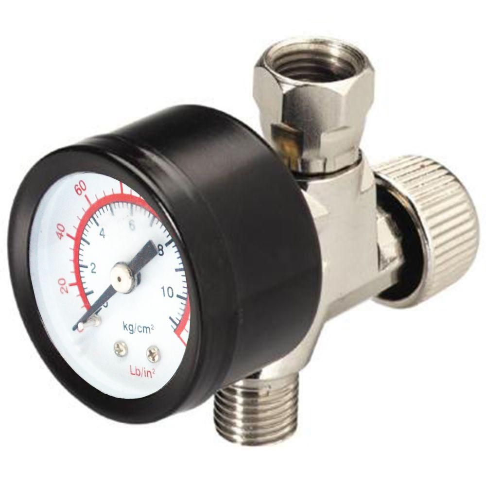1/4 Inch Air Adjustment Valve with Gauge