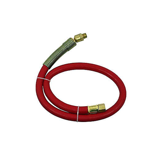 3/8-inch x 30-inch Rubber Lead-in Hose
