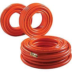 Tuyau à air en PVC 3/8po x 50pi (15m) (3par paquet)