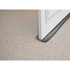 Draft Buster - Foam Cloth Under Door Weather-strip - Brown, 36 inch