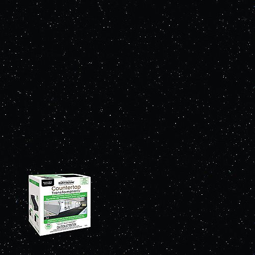 Rust-Oleum Countertop Transformations Kit In Black Mica, 1.42 L (covers up to 50 sq.ft.)