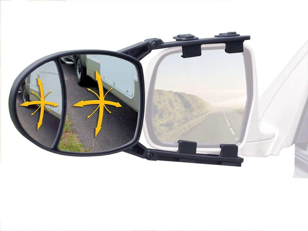 Dual View Clip-On Towing Mirror