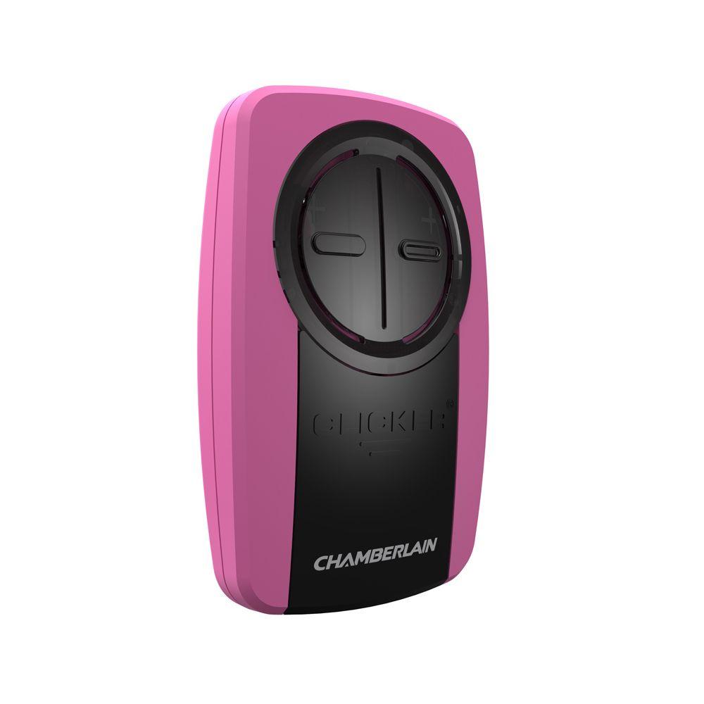 Chamberlain Universal Garage Door Opener Remote in Pink