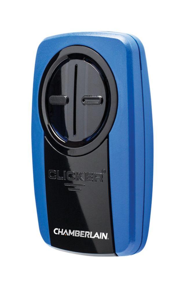 Chamberlain Universal Garage Door Opener Remote in Blue