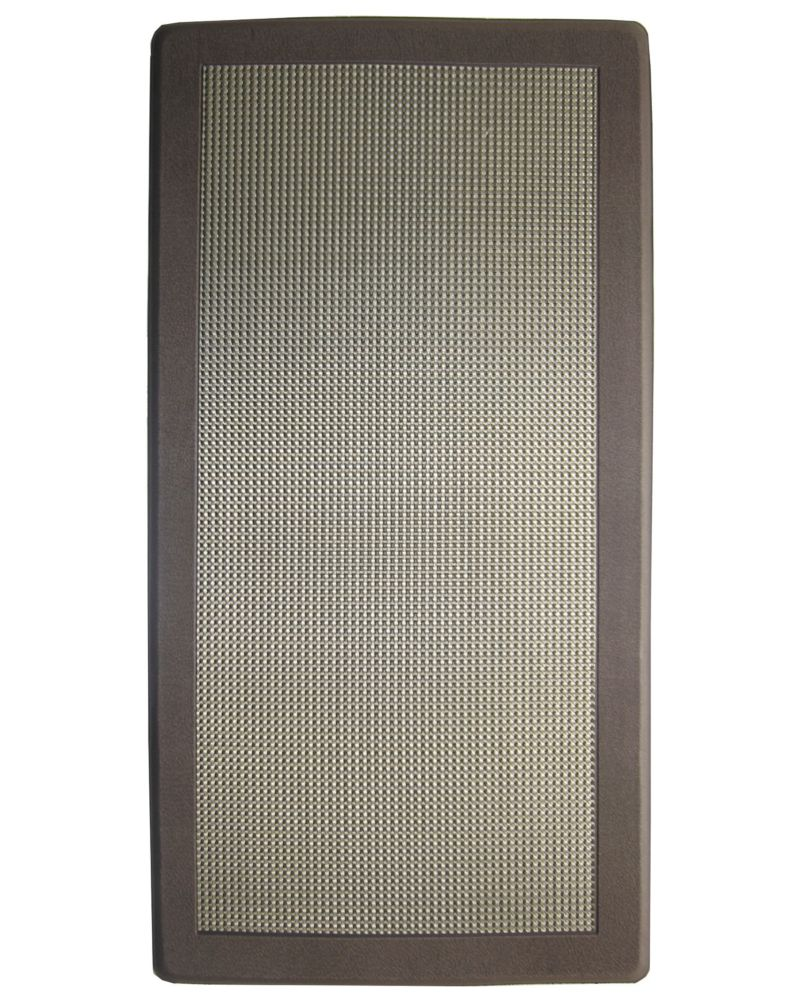 Brown Ergo Comfort Mat 20 Inches x 39 Inches