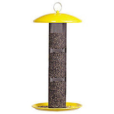 NO/NO Straight-Sided Finch Tube Feeder