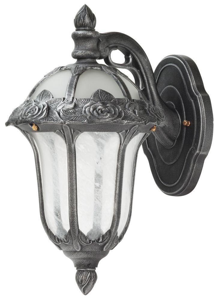 Rose Garden Top Mount Light, Swedish Silver