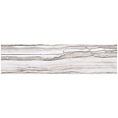VitaElegante Grigio 6-inch x 24-inch Porcelain Floor and Wall Tile (14.53 sq. ft. / case)