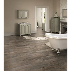 Montagna Rustic Bay 6-inch x 24-inch Glazed Porcelain Floor and Wall Tile (14.53 sq. ft. / case)