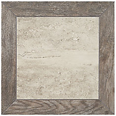 Montagna 18-inch x 18-inch Porcelain Floor and Wall Tile in Rustic Stone