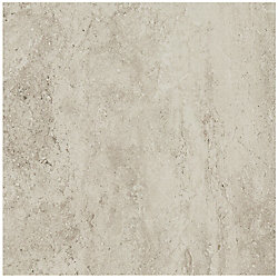 Daltile Bartello 18-inch x 18-inch Glazed Porcelain Floor and Wall Tile in Shimmer Stone