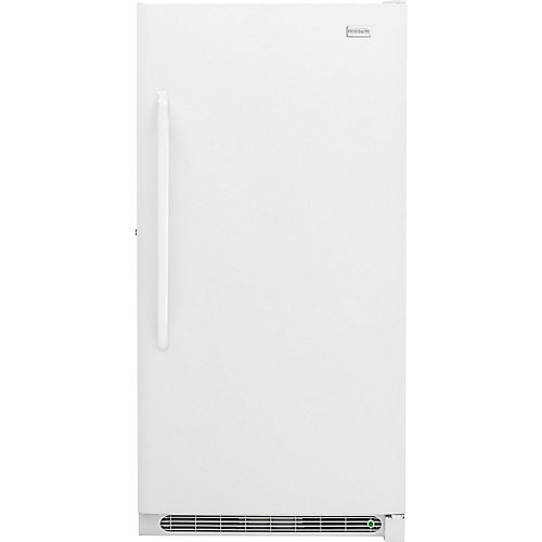 16.6 cu. ft. Upright Freezer with SpaceWise Baskets in White - ENERGY STAR®