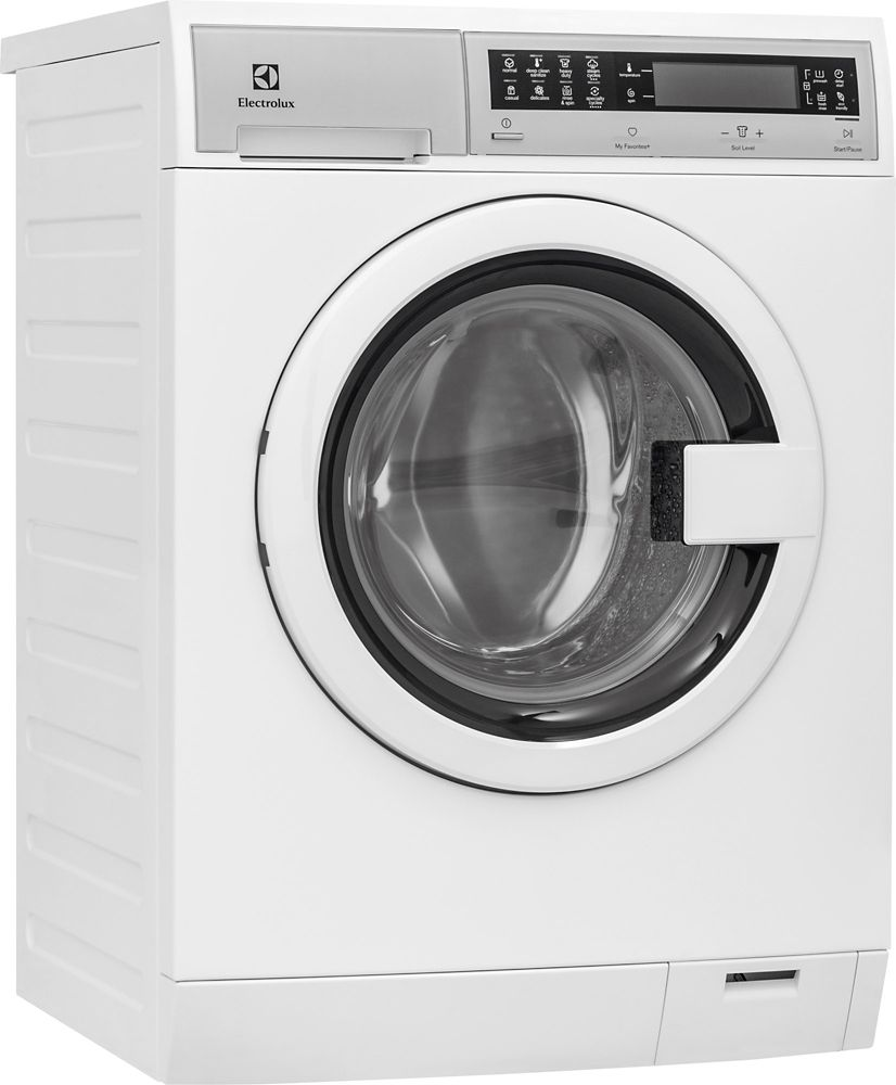 2.4 cu. ft. Front Load Compact Washer with IQ Touch in White