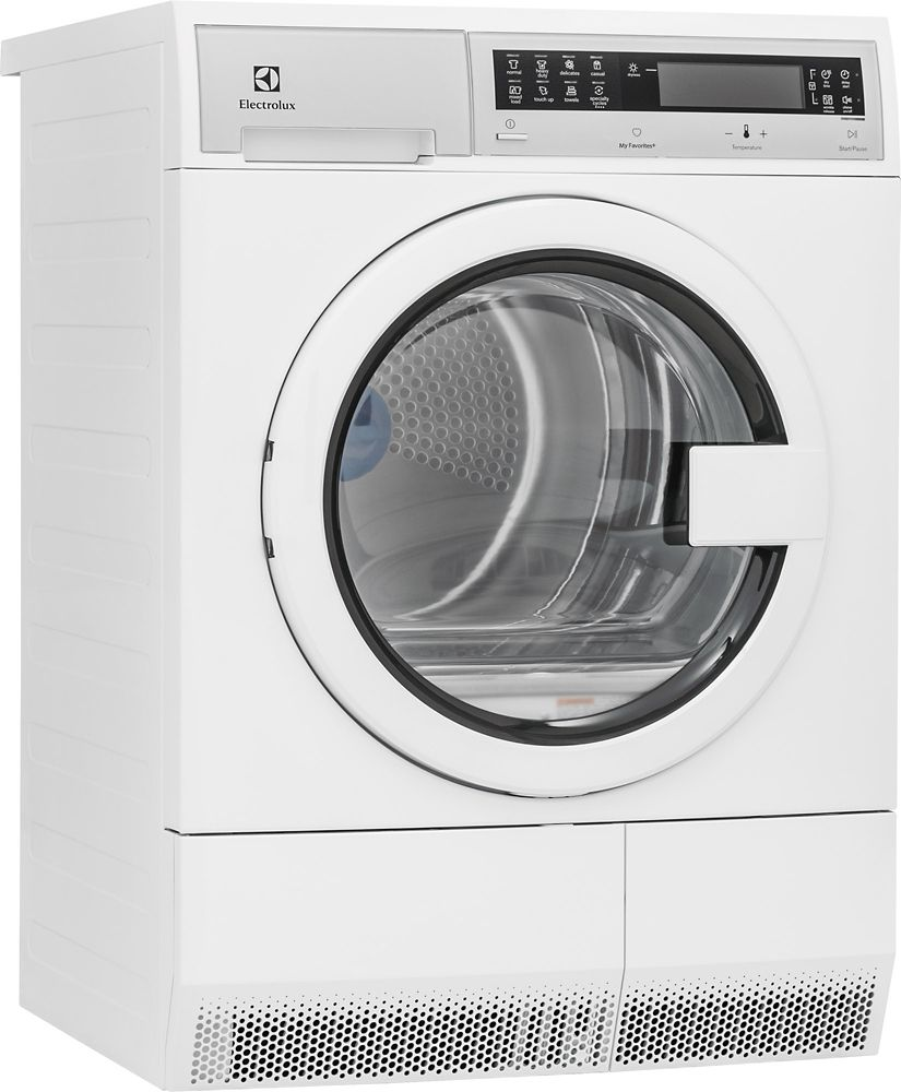 4.0 cu. ft. Electric Condensing Dryer in White