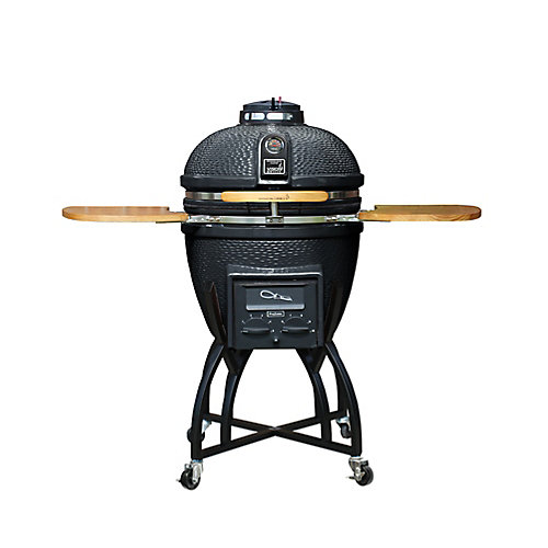 Kamado Pro Ceramic Charcoal BBQ with BBQ Cover