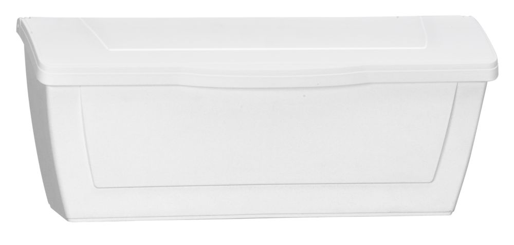 Economic Wall Mount Mailbox, White