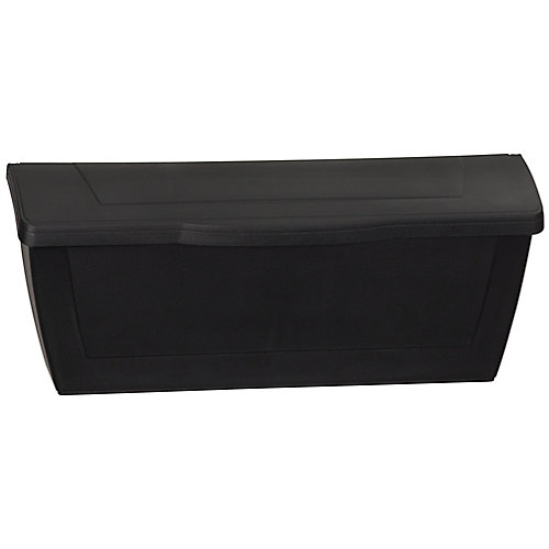 Economic Wall Mount Mailbox, Black
