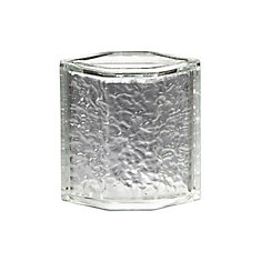 Icescapes Hedron Corner Block, 8 Inch - Case Of 4