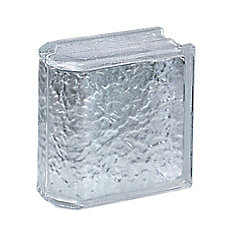 Icescapes Premiere Endblock 8 Inch  X 8 Inch  X 4 Inch - Case Of 4