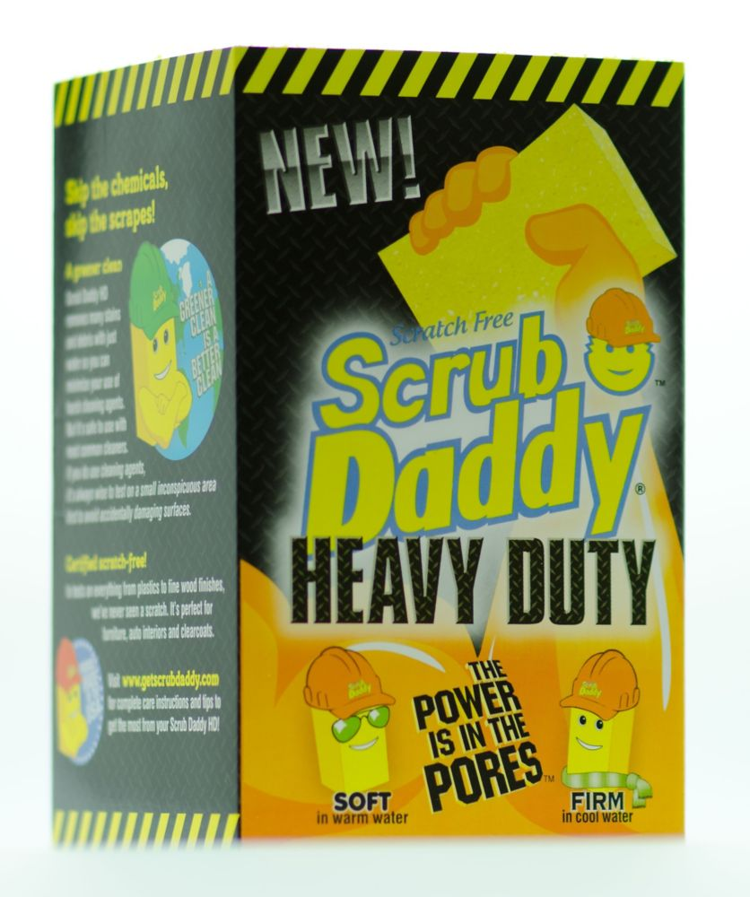 Scrub Daddy Heavy Duty