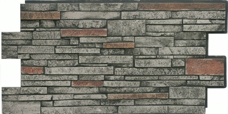 Stacked Stone #55 RUSTIC GRAY (4 pack)