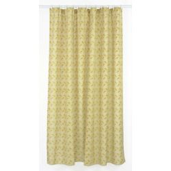 LJ Home Fashions Metro Geometric Chevron Fabric Shower Curtain Liner Ring Set 14 Pieces