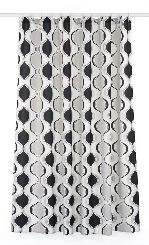 Aquarius Hourglass 14-Piece Shower Curtain Set