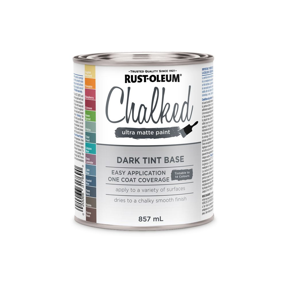 Rust-Oleum Chalk Paint Dark Tint Base