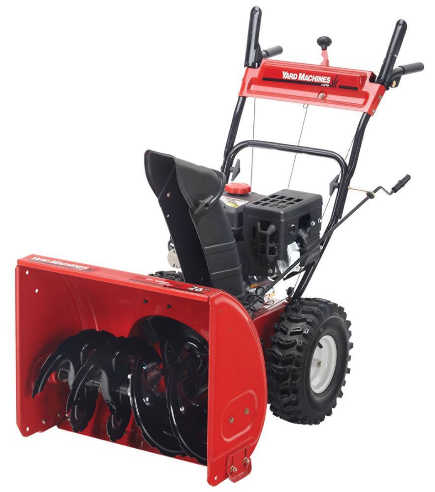 243cc 2-Stage Snow Thrower