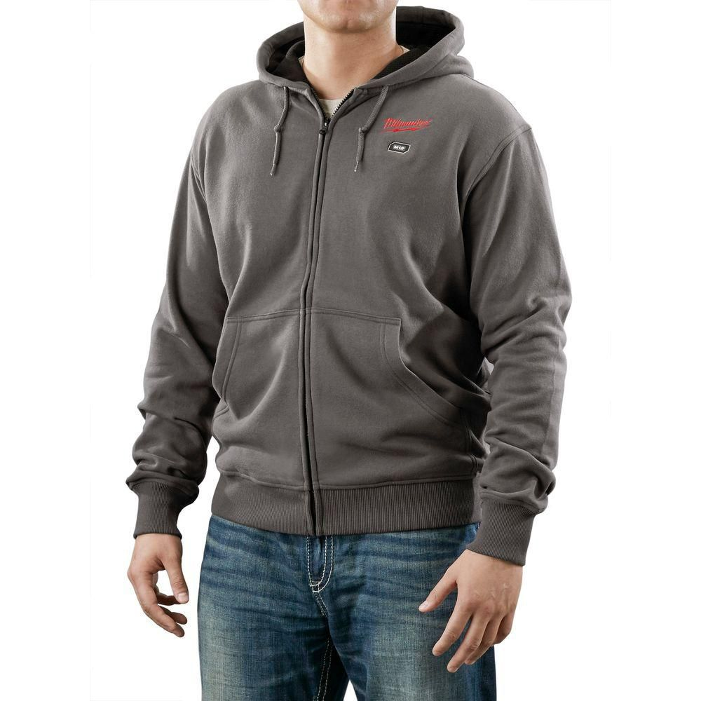 M12 Cordless Gray Heated Hoodie Only 2368-L Canada Discount