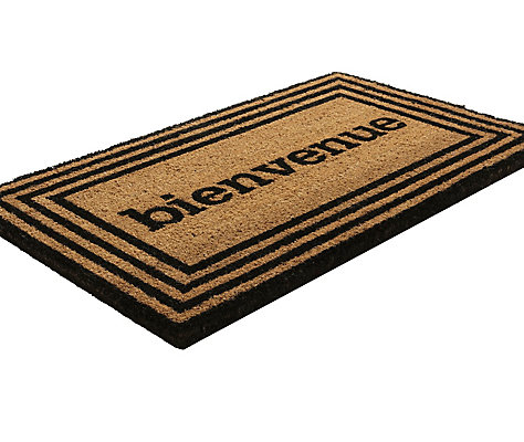 mat welcome coir place htm to door rug our cabin mats