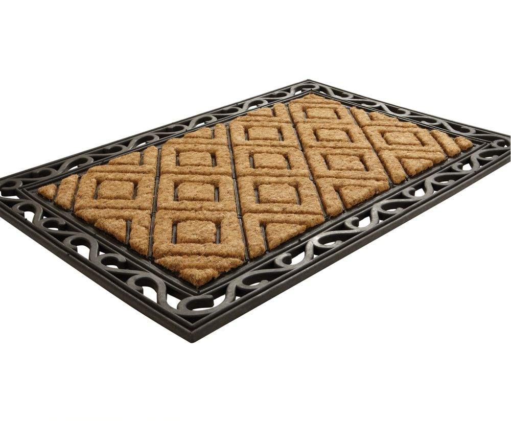 Diamond Coir Door Mat
