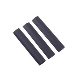 Gardner Bender Heat Shrink Tubing, 1/2 Inch - 1/4 Inch, Black, 3 Inch, 3/Clam
