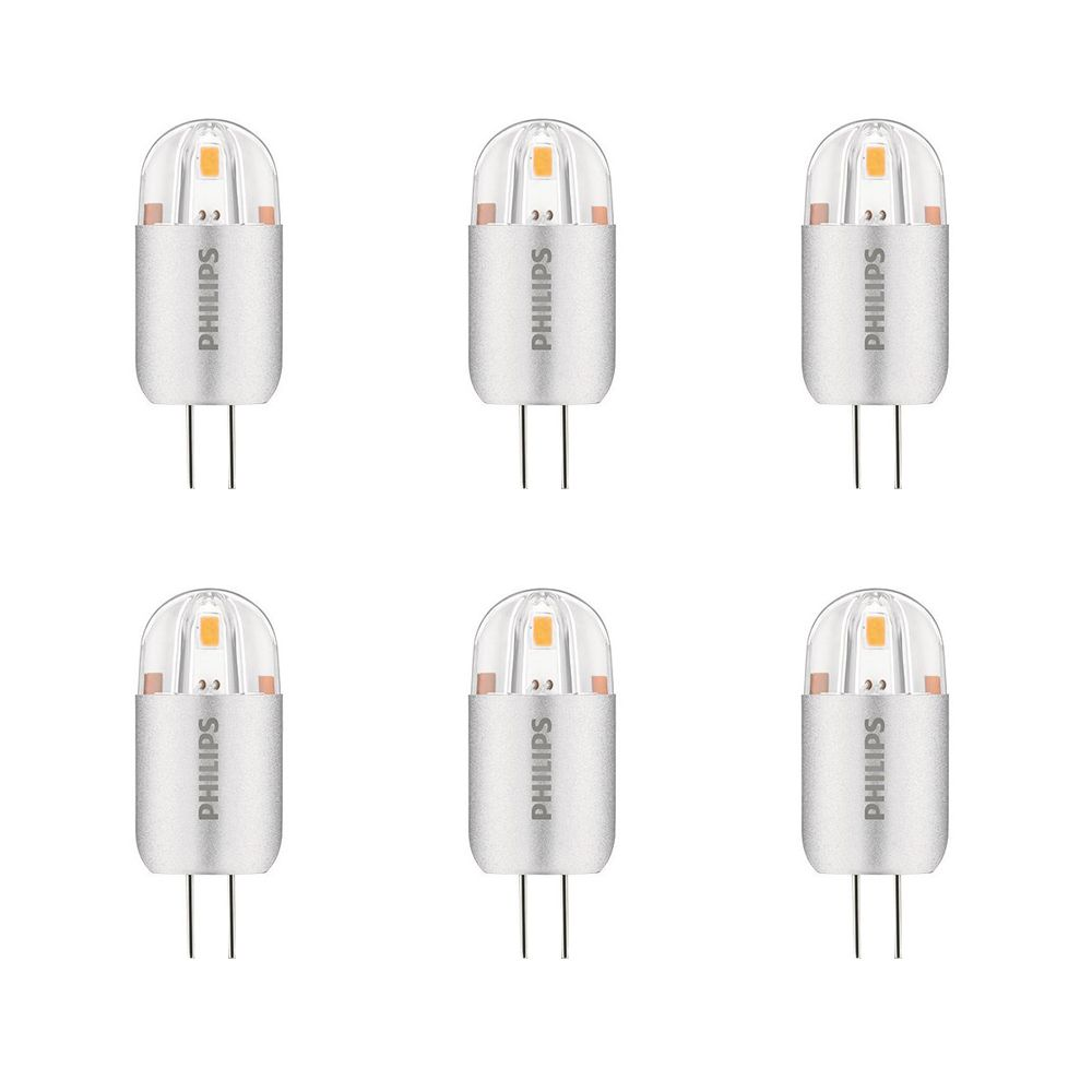 LED 1.2W 10W G4 Capsule Bright White Non-Dimmable (3000K) - Case Of 6 Bulbs 458505 in Canada